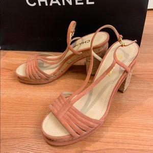 Chanel heels sandals
